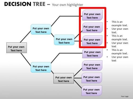 Download Ppt Templates Decision Tree Analysis Diagrams For ...