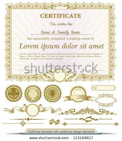Certificate Seal Stock Images, Royalty-Free Images & Vectors ...