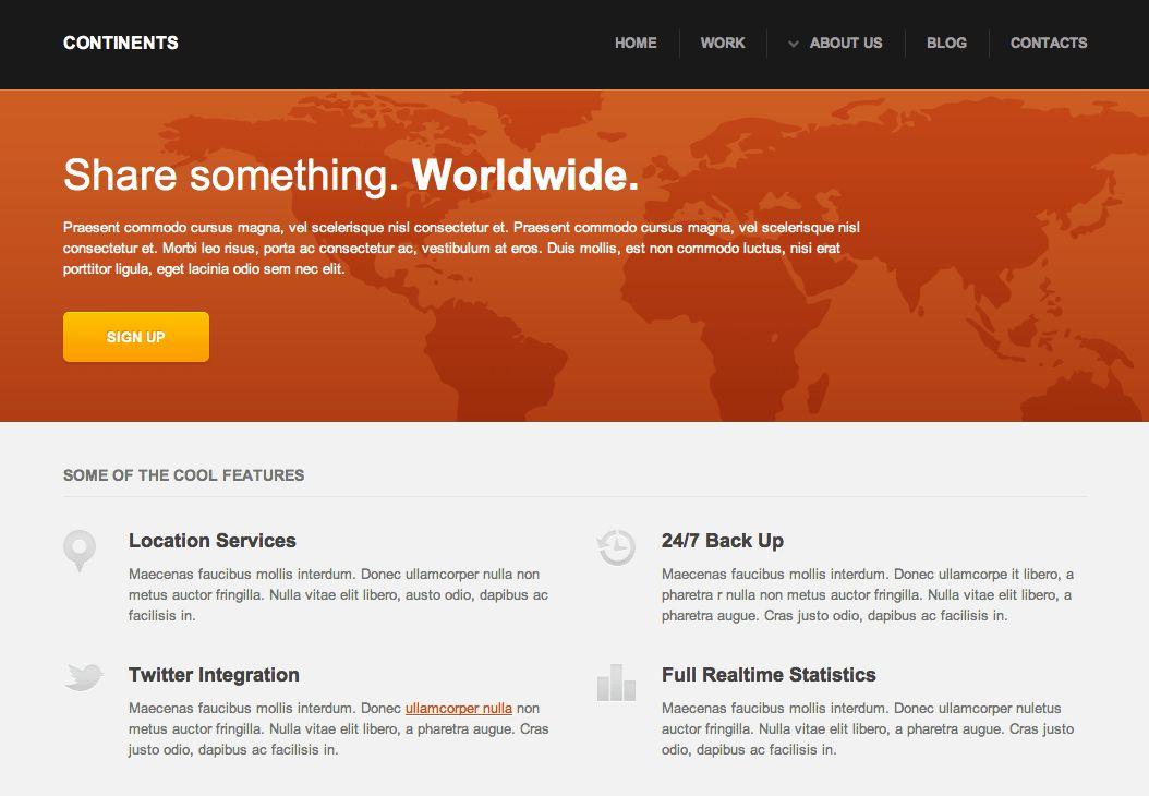Free Dreamweaver Business Website Templates