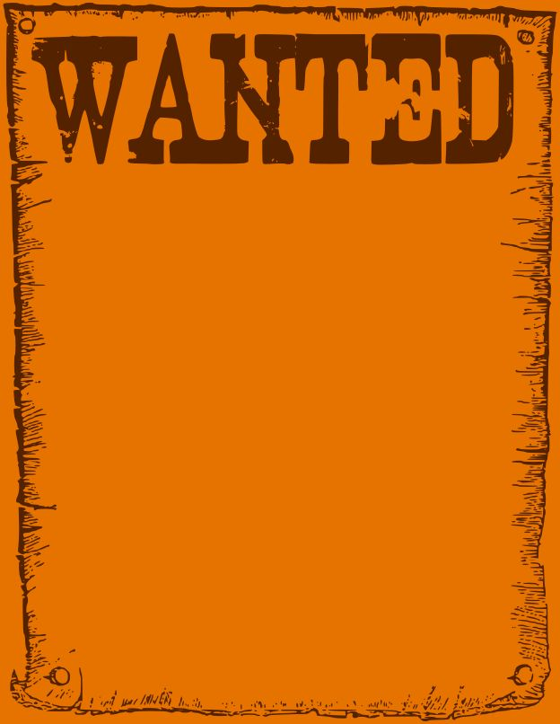 8+ wanted poster template free | Job Resumes Word