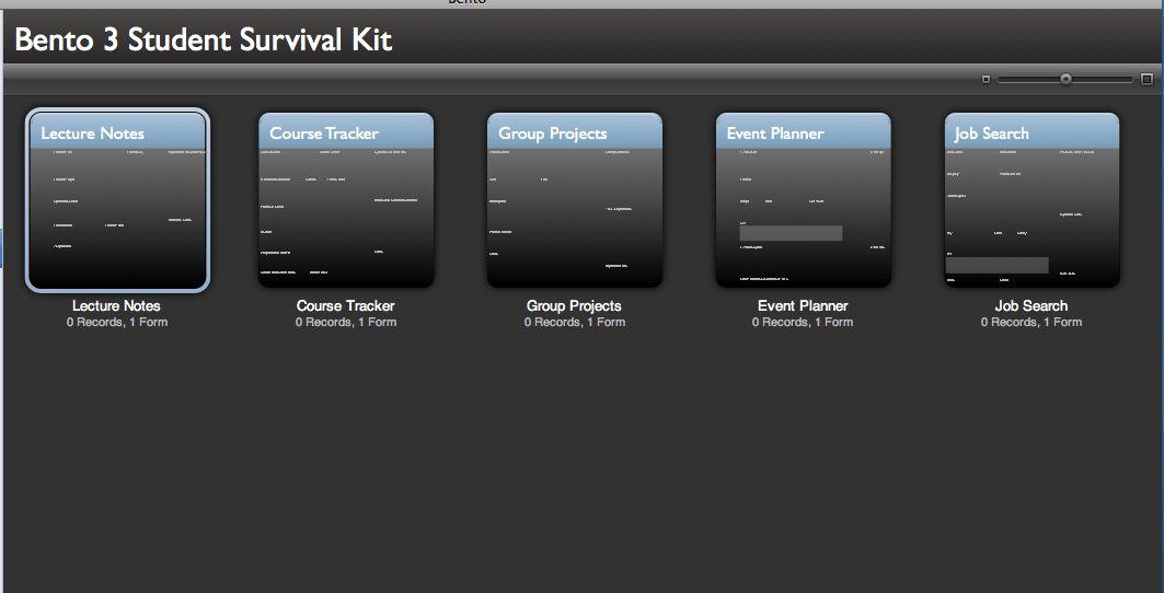 FileMaker Pro free templates   iGo With My iPad