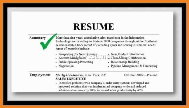 career summary examples | teller resume sample