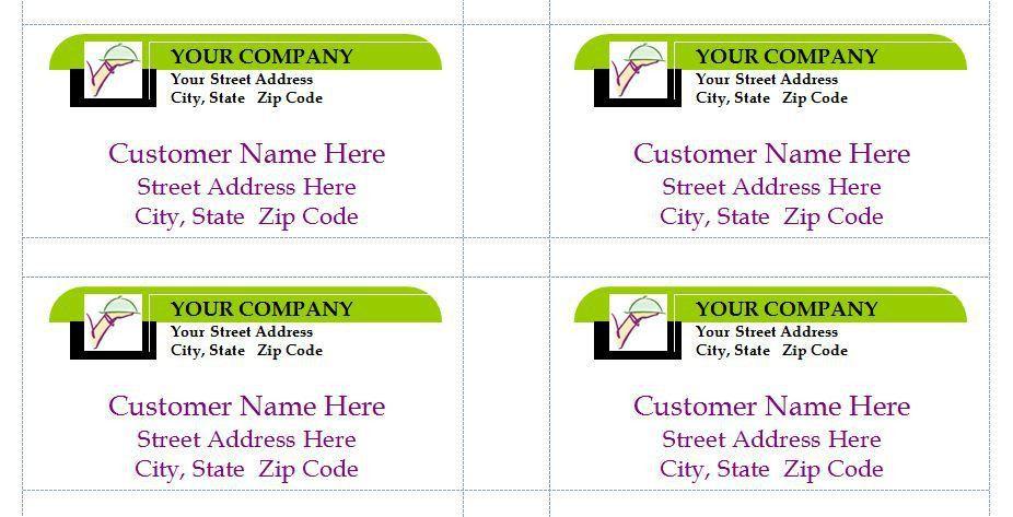 Business Mailing Labels | Business Mailing Label Template