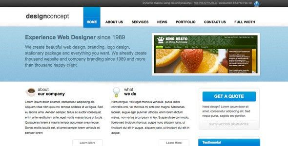 Company Profile Templates from ThemeForest