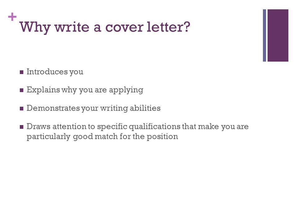 writing effective cover letters ppt video online download