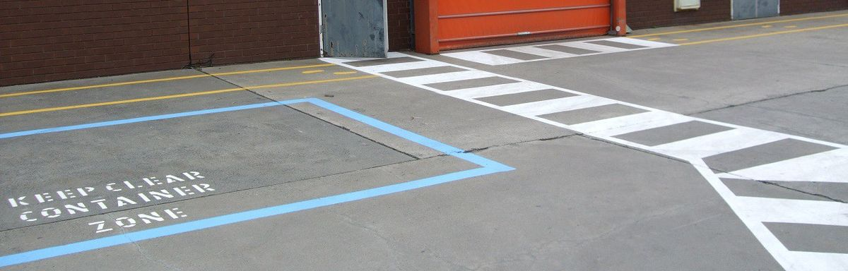 Line Marking Plans | Industrial Painter