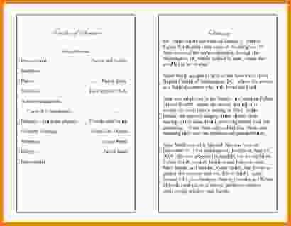 Funeral Program Example. Funeral Program Collage Ad 5 Sample ...
