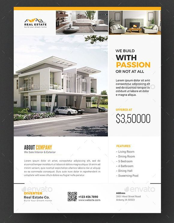 9+ Real Estate Sale Flyers - Editable PSD, AI, Vector EPS Format ...
