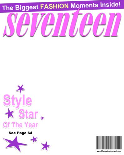 Create Seventeen Magazine Covers