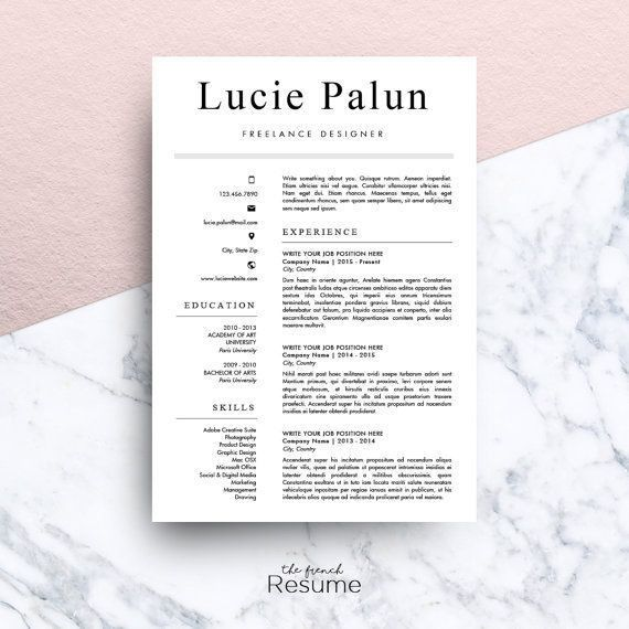 15 best Creative Resume Templates images on Pinterest | Creative ...