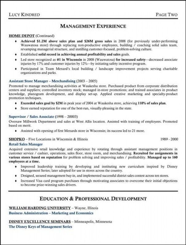 Supervisor Resume Examples. Structural Supervisor Resume Template ...