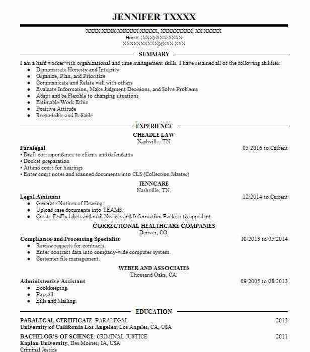 Paralegal Resume Template Corporate Paralegal Resume On Corporate  Corporate Paralegal Resume