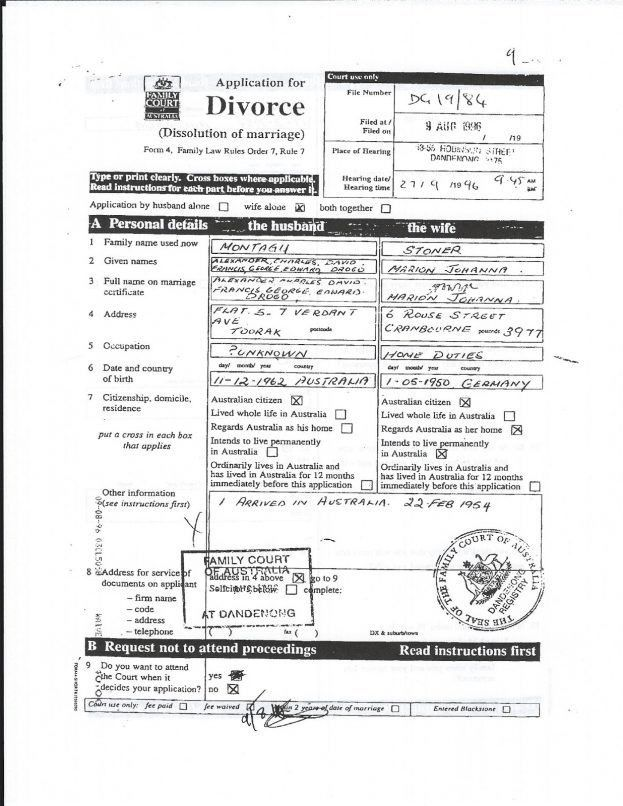 divorce decree : Selimtd