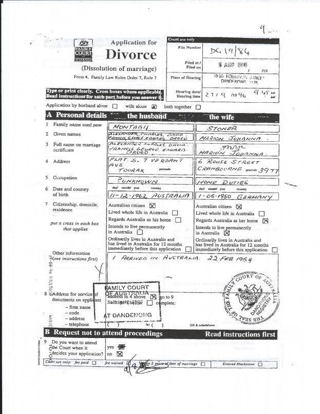 divorce decree : Selimtd