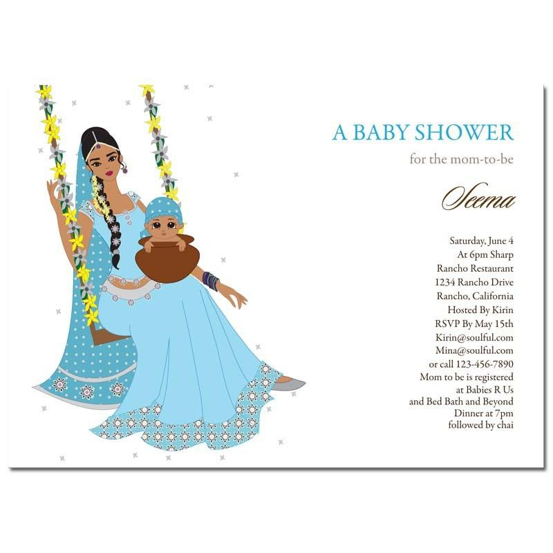 Simple Indian Baby Shower Invitation Cards 96 In Sample Birthday ...