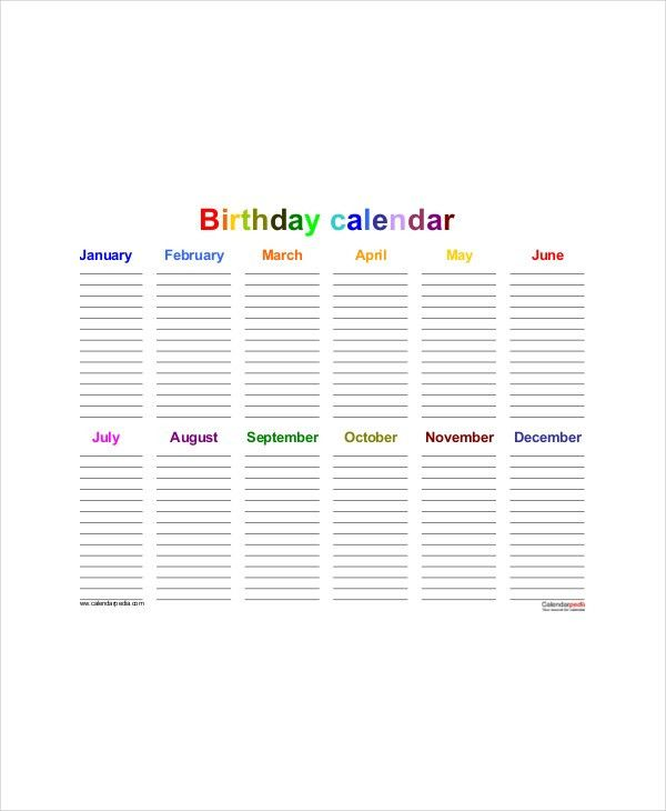 Office Calendar Template - 7+ Free Word, PDF Documents Download ...