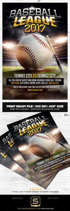 American Football Flyer   American football, Flyer template and ...