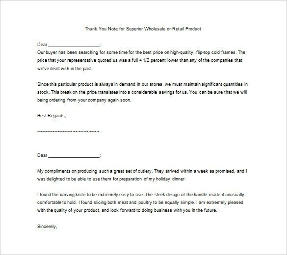 Thank You for Your Service Letter – 9+ Free Word, Excel, PDF ...