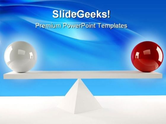 Balls Balance Business PowerPoint Templates And PowerPoint ...
