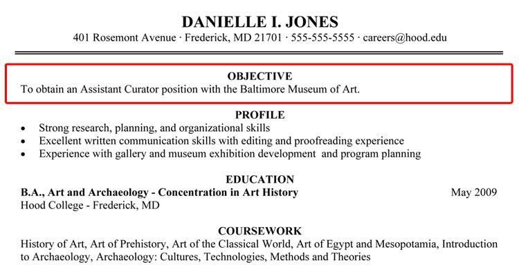 high school student resume objective. objective resume example job ...