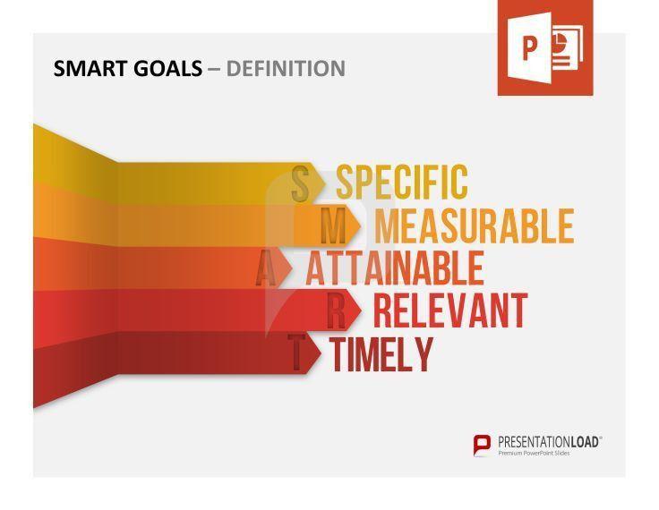 70 best SMART GOALS // POWERPOINT TEMPLATES images on Pinterest ...