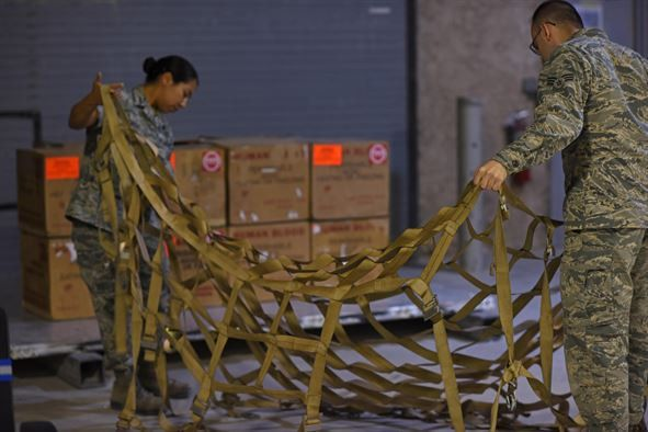 Blood transshipment Airmen: The veins of the AOR > U.S. Air Forces ...