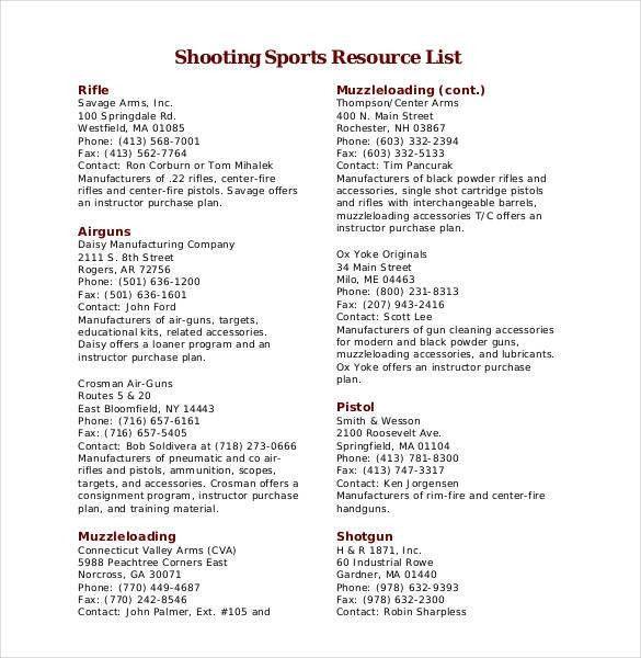 Phone List Templates [Template.billybullock.us ]