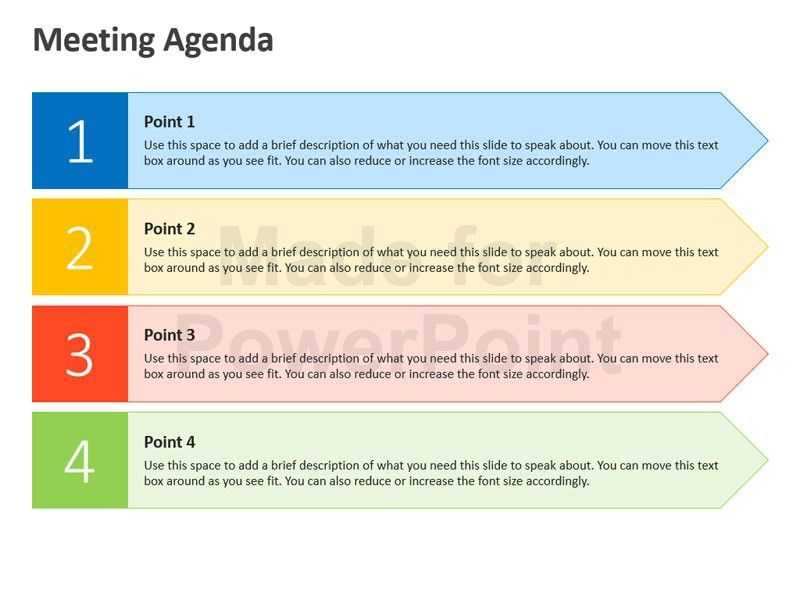 Meeting Agenda - Business PPT Slides