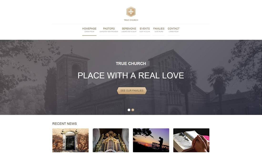 14 Best Free Church Website Templates 2017 - Colorlib