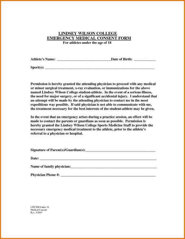 FREE PRINTABLE CHILD MEDICAL CONSENT FORM.FREE PRINTABLE CHILD ...