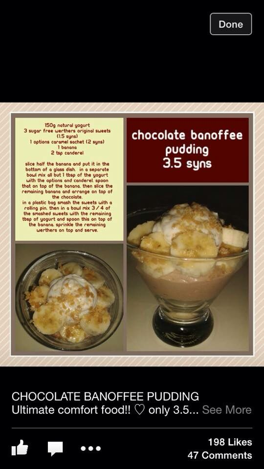 1000 images about desserts sweet treats on pinterest Slimming world recipes for 1 person