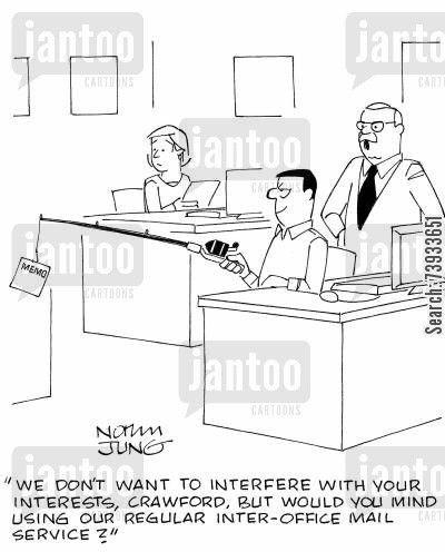 inter-office mail service cartoons - Humor from Jantoo Cartoons