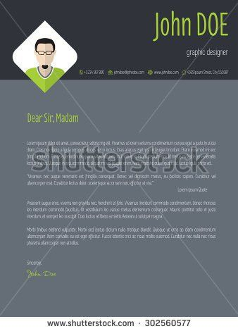 Job Cover Letter Stock Images, Royalty-Free Images & Vectors ...