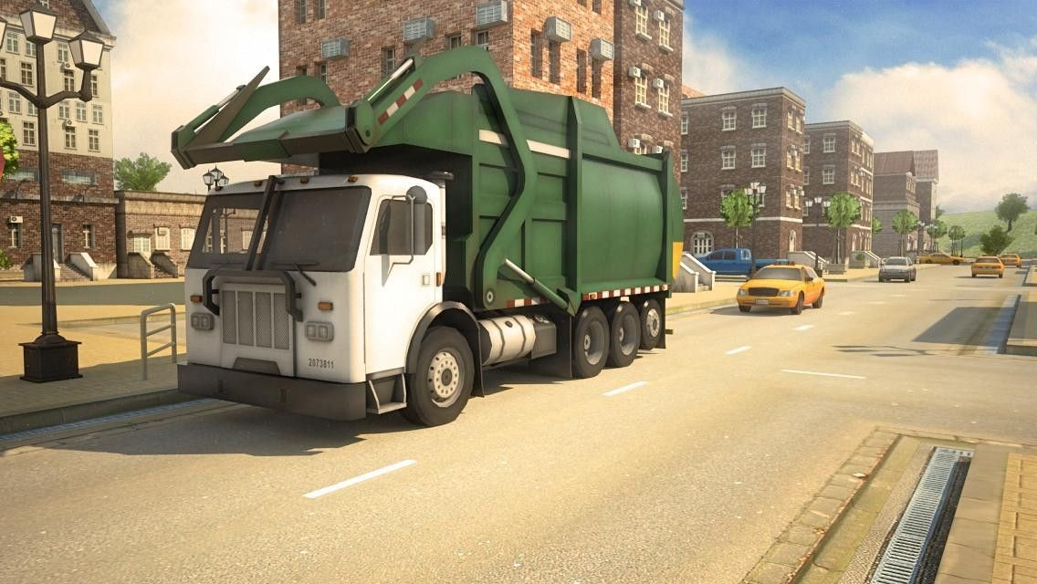 Garbage Truck Simulator 3D Racing Games 2017 - Android Apps on ...