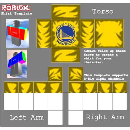 Golden State Warriors T-Shirt [xP Designs] - ROBLOX