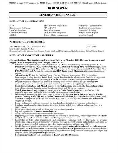 Business Analyst Resume. Business Analyst Resume Example ...