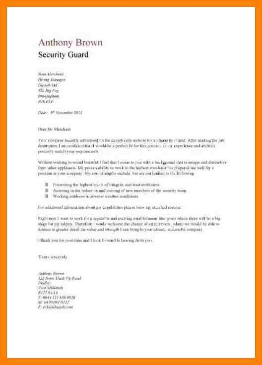 7+ cover letter for security officer | packaging clerks