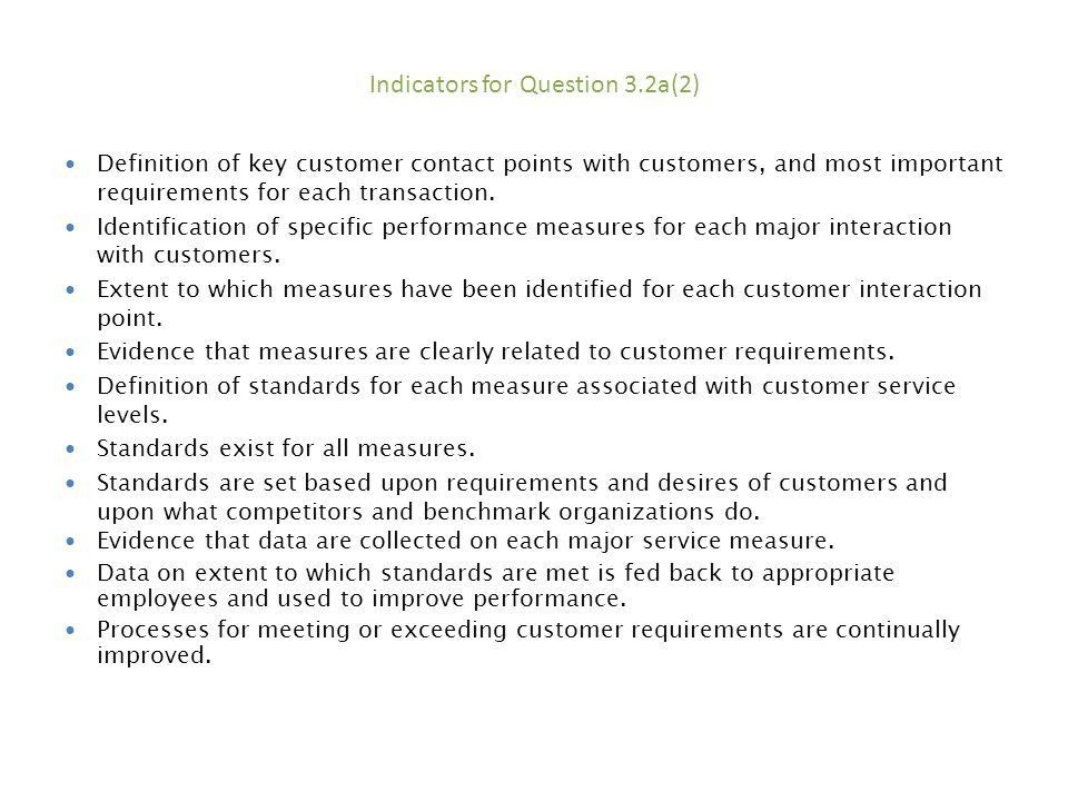 3.1a(1) HOW do you identify CUSTOMERS, CUSTOMER groups, and market ...