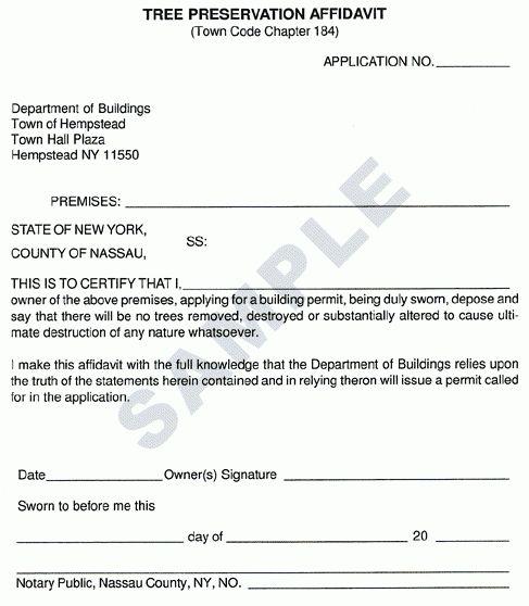 7+ Affidavit Form Templates - Word Excel PDF Formats