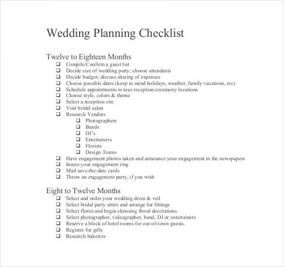 Wedding List Template   10+ Free Word, PDF Documents Download .  Bridal Party List Template