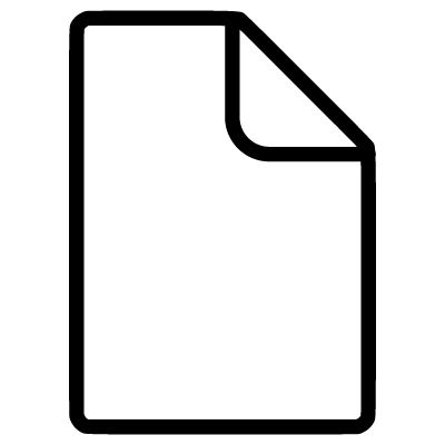 Blank Document ⋆ Free Vectors, Logos, Icons and Photos Downloads