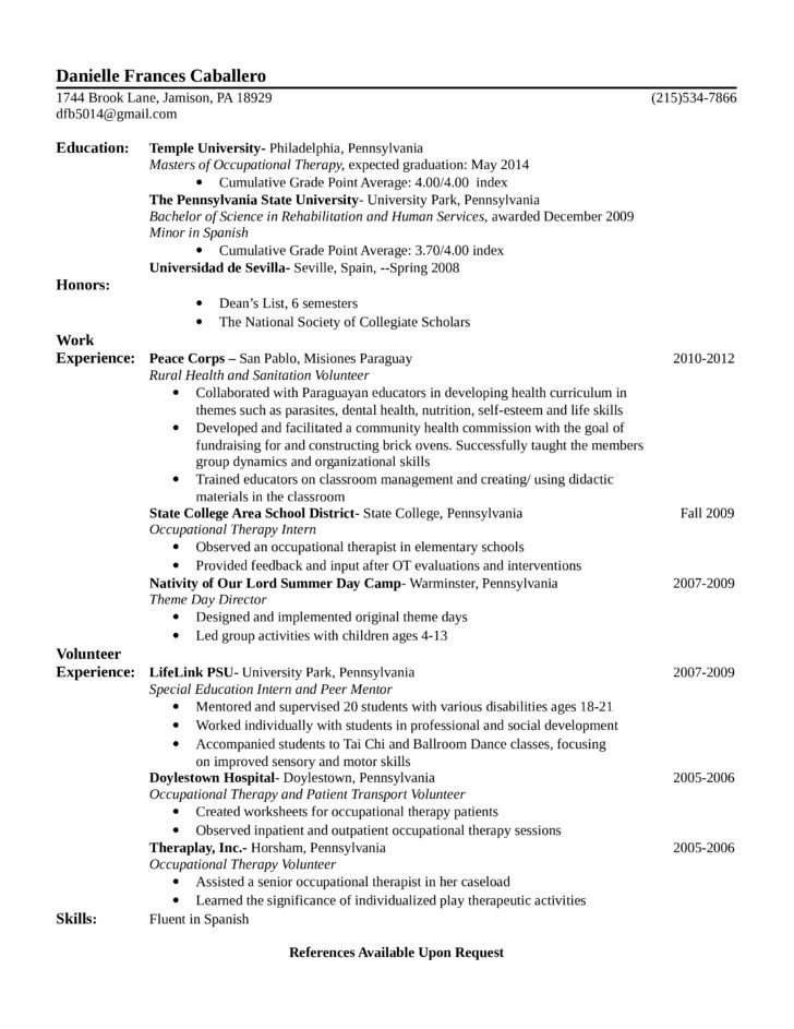 massage therapist resume. example resume mfcc therapist marriage ...