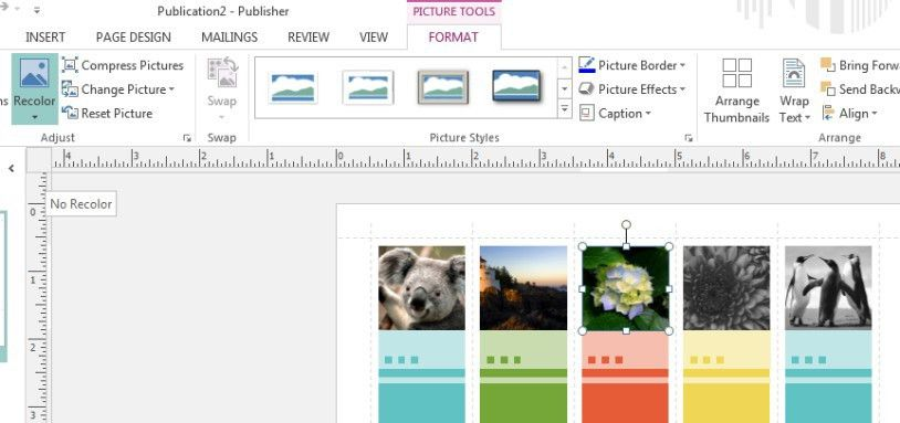 Use Publisher to Create Photo Bookmarks for Your Next Event ...