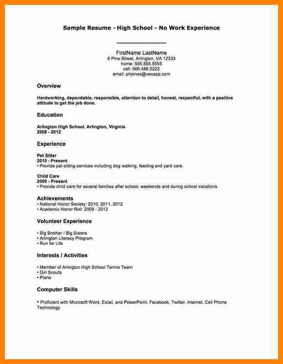 6+ child care resume sample no experience | job resumed