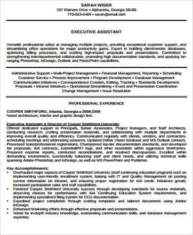 Senior Executive Resume. Excellent Resume Account Management ...
