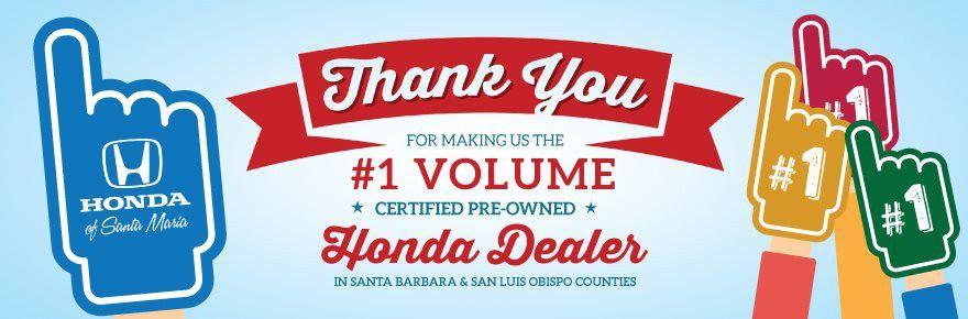 Santa Maria Honda Dealer in Santa Maria CA | San Luis Obispo ...