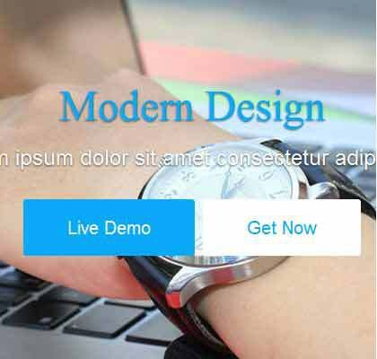Bikin – Free Bootstrap Landing Page Template - Awesome Bootstrap