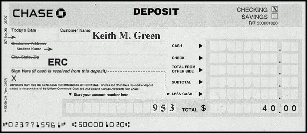 deposit slip examples