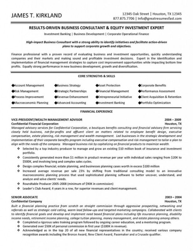 Examples Of Federal Government Resumes | Samples Of Resumes