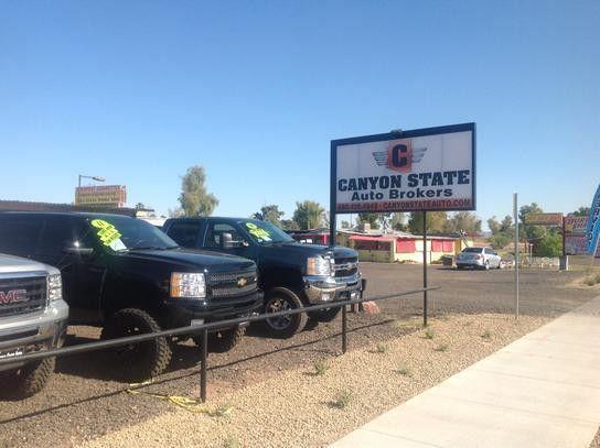 Canyon State Auto Brokers car dealership in MESA, AZ 85212-4206 ...